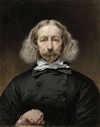 Autoportrait du peintre néerlandais Daiwaille, exposé au musée d'État d'Amsterdam.  (définition réelle 4280×5442)