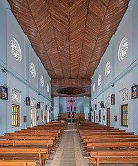 Vue intérieure de la cathédrale Sainte-Marie de Badulla (Sri Lanka). (définition réelle 4316×5179)