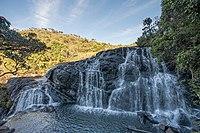 Les chutes Baker, dans le parc national de Horton Plains (Sri Lanka). (définition réelle 7952×5304)